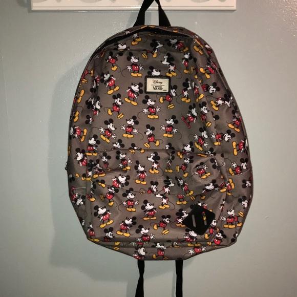a08f92c391d Vans Disney Mickey Mouse Backpack. M 5a64c56c2c705de240d7a8b0